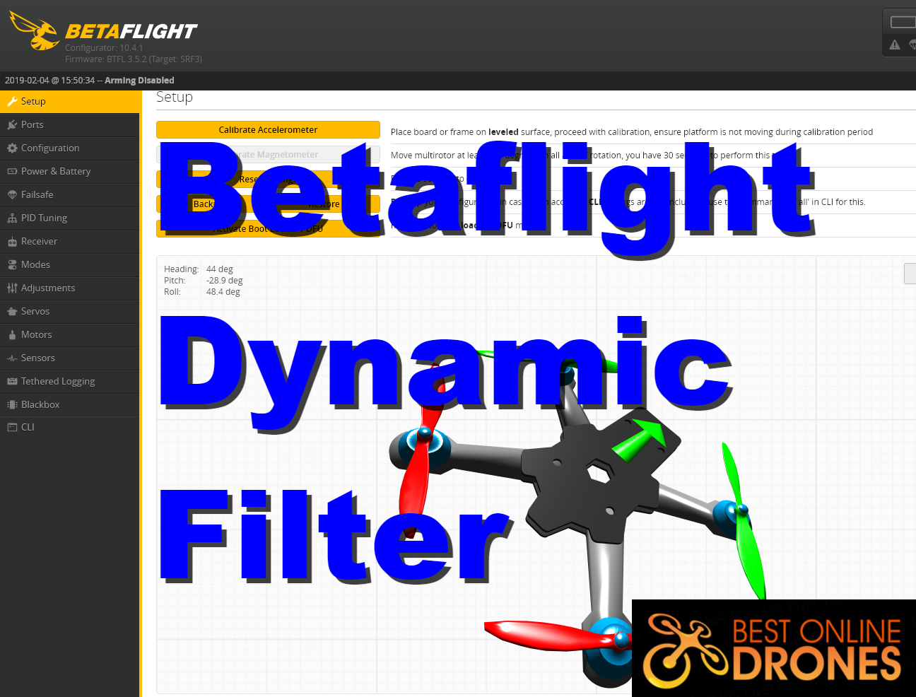 Explained: Betaflight Dynamic Filter | Best Online Drones